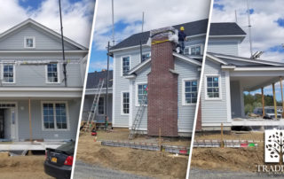 Tradition Model home construction header with 3 preview images